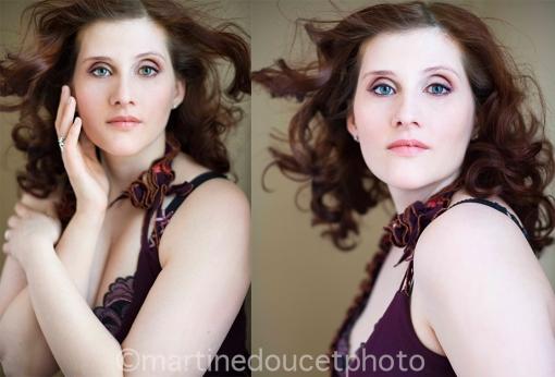 """Projet """"Portrait de femme"""" ©martinedoucetphoto."""