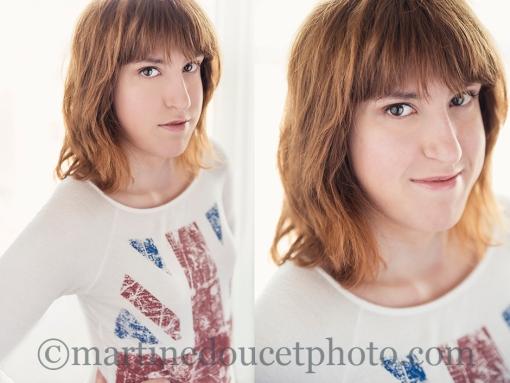 """""""Portrait de femme"""" ©martinedoucetphoto."""